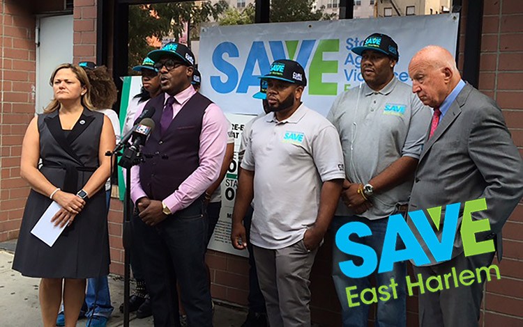 GOSO SAVE Cure Violence Press Conference