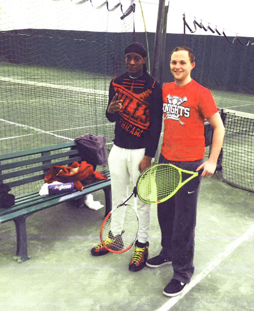 shaheem and ari-tennis