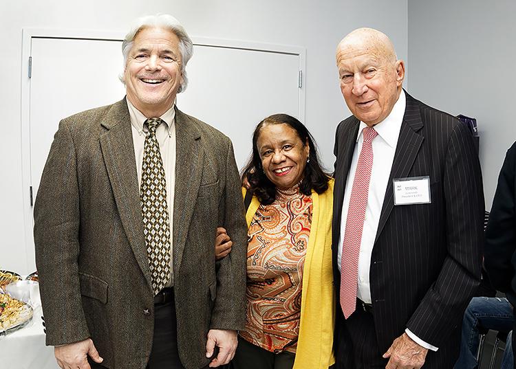 Tim Lisante, Gloria Ortiz and Mark Goldsmith