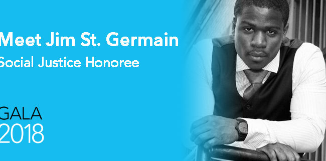 GOSO Gala Social Justice Honoree Jim St. Germain