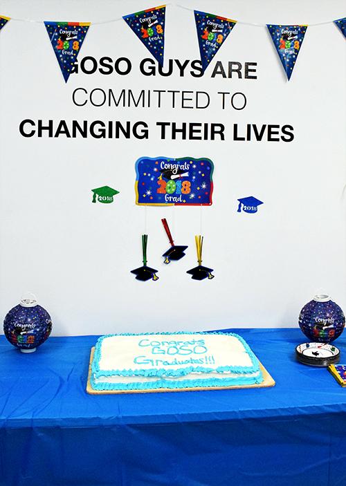 GOSO graduation cake 2018