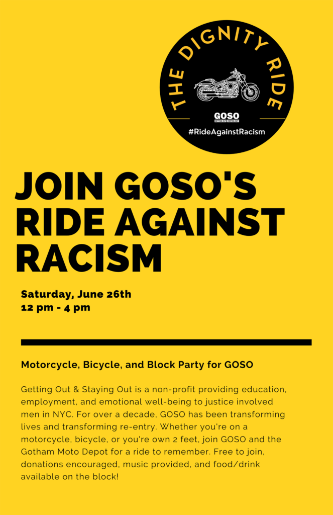 Dignity Ride flyer