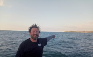 Sean Nuttall swims English Channel